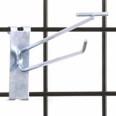 Gridwall Scanner Hook - 8in. Zinc Finish