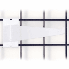 Gridwall Shelf Bracket 14in. White