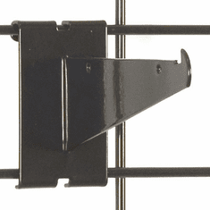 Gridwall Shelf Bracket 6in. Black