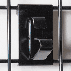 Gridwall Wheel Holder Bracket Black