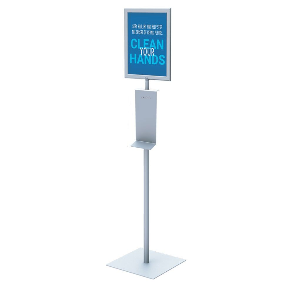 Stand Only Stand for Sanitizer Dispenser Universal model Made in USA