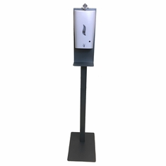 Automated Hand Sanitizer Dispenser With Silver Stand