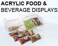 Acrylic Food and Beverage Displays