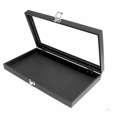 Jewelry Tray with Glass Lid