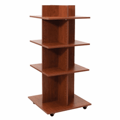 Knock Down Shelf Tower Merchandiser Cherry