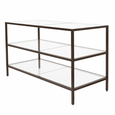 Linea 3-Shelf Merchandising Table