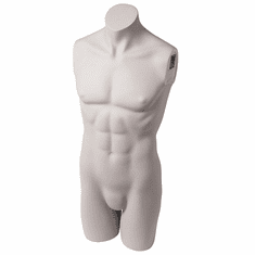 Male Headless 3/4 Torso Form