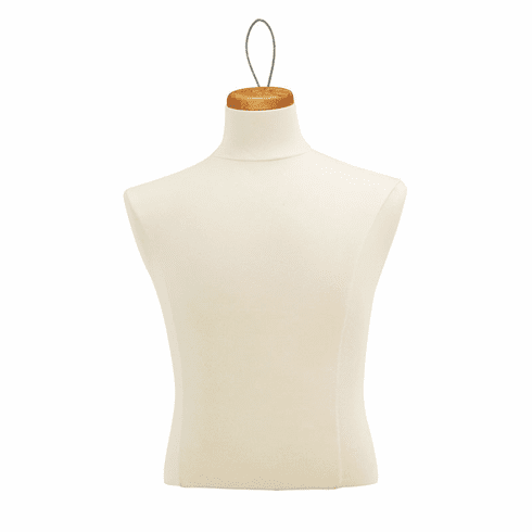 Male Shirt Form with Neckblock and Wire Loop