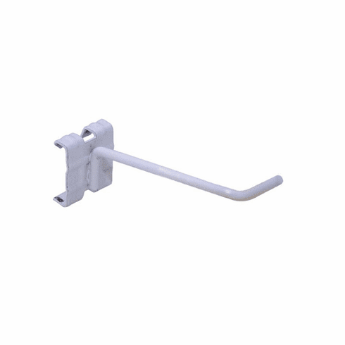 "Merchandising Hooks for Power Panels 4"" White"
