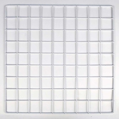 "Mini Wire Grid Panel for Cubbies 14"" White"