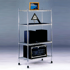 NSF Extra Heavy Duty Wire Shelving Unit