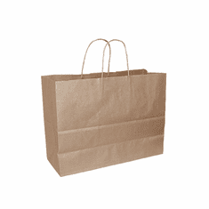 Paper Shopping Bag Brown Case of 250