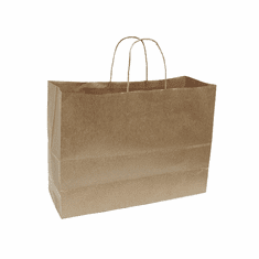 Paper Shopping Bag Illusion Groove Case of 250