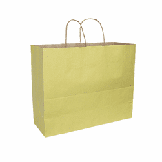 Paper Shopping Bag Mellow Yellow Case of 250
