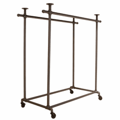 Pipeline Double Ballet Bar with Top (Frame Only)