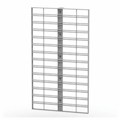 Queuing Wall Merchandising End Cap Slatgrid Panel