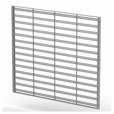 Queuing Wall Merchandising Slatgrid Panel