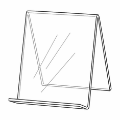 Acrylic Book Easel 5-1/2in.H
