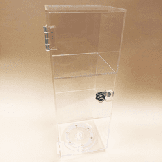 Quick Ship Acrylic Revolving Mini Tower Showcase