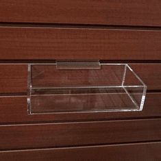 Quick Ship Acrylic Slatwall Trays