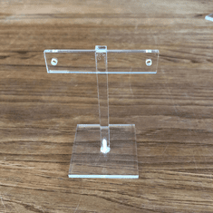 Quick Ship Acrylic T-Bar Earring Stand 3-1/4""