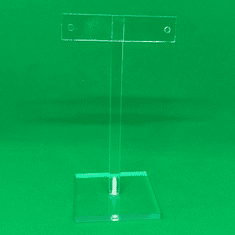 """Quick Ship Acrylic T-Bar Earring Stand 5-1/4"""""""