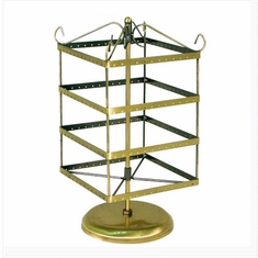 Spinning Earring Display Gold