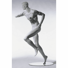 SportSeries Athletic Male Mannequin Left Leg Forward