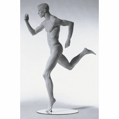 SportSeries Athletic Male Mannequin Right Leg Back