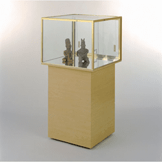 Square Jewelry Free Standing Case