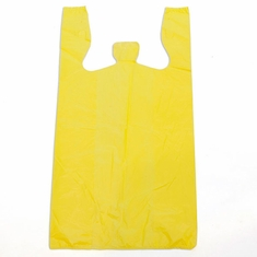 T-Shirt Bags (Box of 1000) Yellow