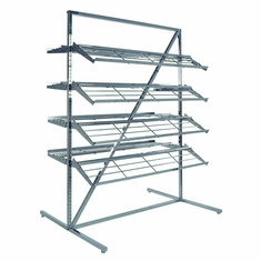 T Style Adjustable Shoe Rack