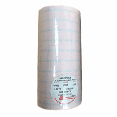 Tamper Resistant Red Sale Labels - 2 Line Gun