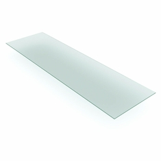 """Tempered Glass Shelves 12"""" x 48"""" Box of 5"""