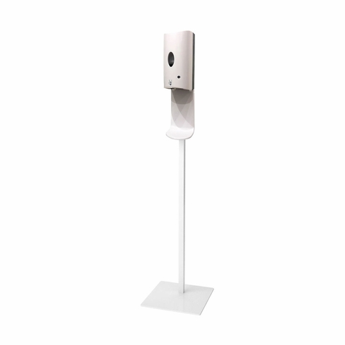 Touchless Hand Sanitizer Stand Gloss White