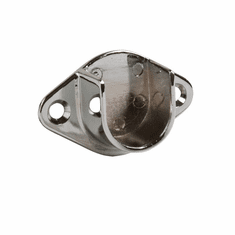 U Flange for Round Tubing 1in. & 1-1/16in.