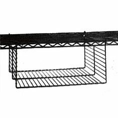 Undershelf Basket for Wire Shelving Units Box of 4