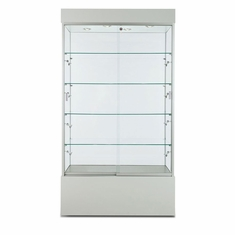 "Wall Display Case 40"" Grey"