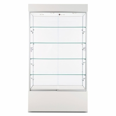 "Wall Display Case 40"" White"
