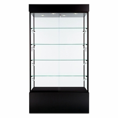 "Wall Display Case 48"" Black"