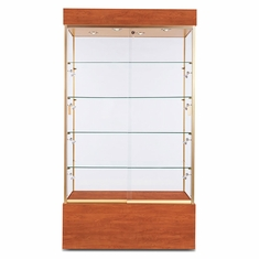 "Wall Display Case 48"" Cherry"