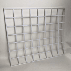 "White Grid Panel 21"" x 24"" Box of 4"