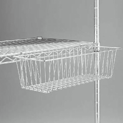 Wire Display Baskets for Wire Shelving Units Box of 10
