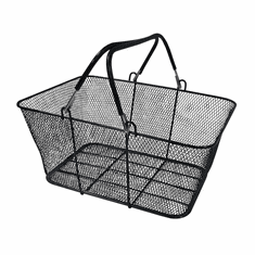 Wire Mesh Metal Shopping Basket