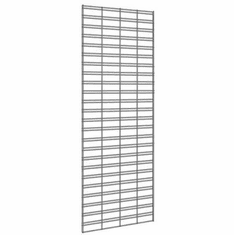 Wire Slatgrid Panels 2ft x 8ft (Box of 3)