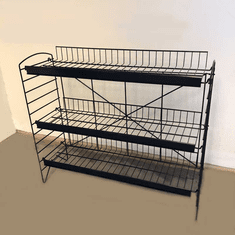 Wire Snack Rack Black