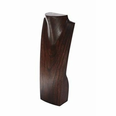 """Wood Brown Necklace Display with Neck 20"""""""