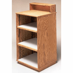 Wood Register Stand/Wrap Counter