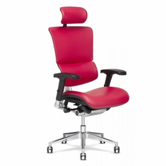 X4 Brisa Executive Chair with Headrest Rose