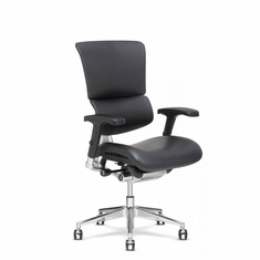 X4 Leather Executive Chair Black